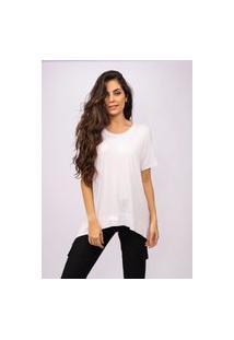 T-Shirt Amazonia Vital Malha Basic Branca
