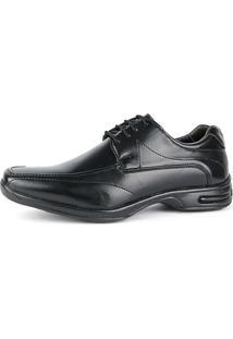 Sapato Social Sapatofran Ortopédico Masculino - Masculino-Preto