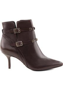 Ankle Boot Fivela Chocolate | Schutz