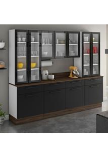 Cozinha Compacta Exclusive 11 Pt 4 Gv Preta