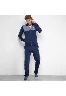 Agasalho Adidas Back2Basics Masculino - Masculino-Marinho+Cinza