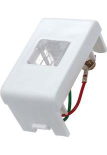 Módulo Para Telefone Rj11 2 Fios Branco Lunare Prime Schneider