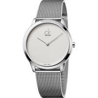 6b3b164023f Dafiti. Relógio Calvin Klein K3M2112Y Prata