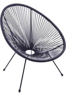 Cadeira Acapulco Preta