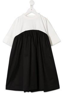 Unlabel Vestido Apple Bicolor - Preto
