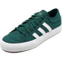 078abd59c5247 Kanui. Tênis Adidas Skateboarding Matchcourt Verde