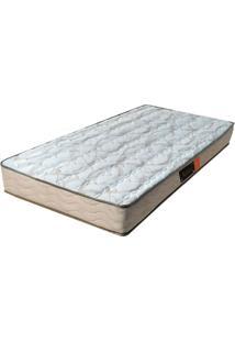 Colchão Solteiro Pillow Top Active- Pelmex - Branco / Bege