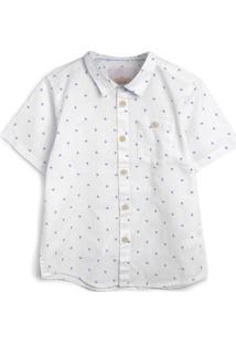 Camisa Milon Menino Estampa Branca