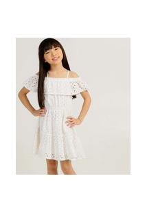 Vestido Infantil Ciganinha Laise Marisa Tam 4 A 10