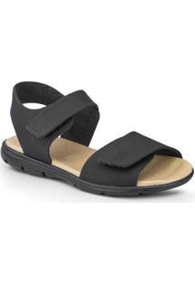 Sandália Infantil Bibi Basic Sandals Masculino - Masculino-Preto