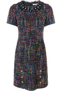 Blumarine Vestido De Tweed - Estampado
