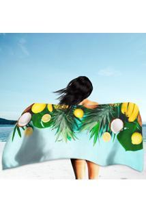 Toalha De Praia / Banho Fruits