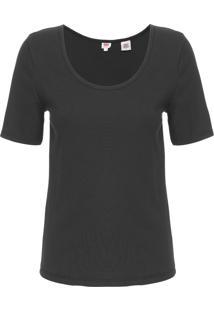 Camiseta Feminina Venice - Preto