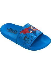 Chinelo Infantil Slide Super Homem Grendene Kids 21795
