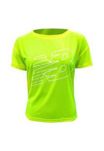 Camiseta New Balance Oversized Achiever