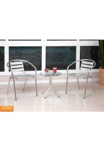 Conjunto Externo Laís De Aluminio – Alegro Móveis. - Alumínio