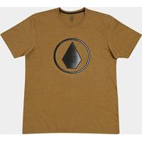 Camiseta Volcom Plus Size Silk Removed Masculina - Masculino 3b9ebfe3536