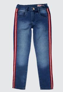 Calça Jeans Moletom Miss Doll - Tricae