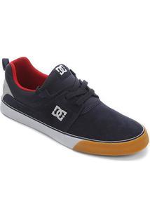 Tênis Dc Shoes Heathrow Vulc Masculino - Masculino-Marinho+Cinza