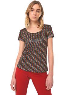 Camiseta Desigual Dilon Preta