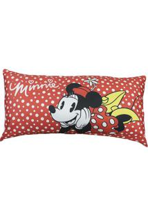 Travesseiro Minnie Mouse® - Vermelho & Branco - 15X9Zona Criativa