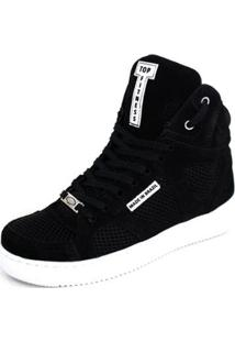 Tênis Botinhas Sneakers Cano Alto Top Fitness Masculino - Masculino
