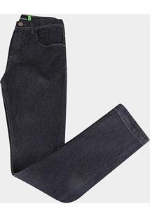 Calça Jeans Infantil Hd Masculina - Masculino-Azul+Preto