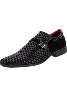Sapato Masculino Social Bkarellus - 7011 Preto 38