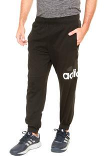 Calça Adidas Ess T Sj Logo Preta