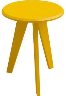 Mesa Lateral Ellis Amarelo