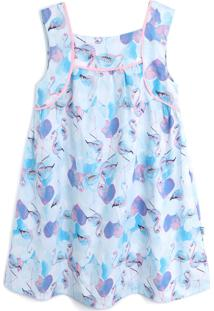 Vestido Rovitex Flamingo Azul
