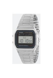 Relógio Unissex Casio Vintage A158Wa/1Df Digital 3Atm | Casio | U