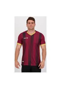 Camisa Ícone Sports Stripe Vinho