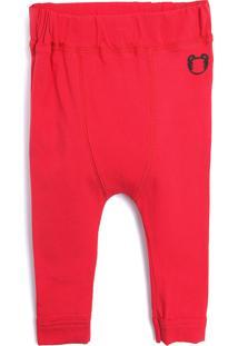 Calã§A Tigor T. Tigre Menino Lisa Vermelha - Vermelho - Menino - Algodã£O - Dafiti