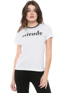 Camiseta Triton Atitude Branca