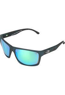 e80e5c7623b50 Óculos De Sol Mormaii Carmel Fosco Camuflado Masculino - Masculino-Azul