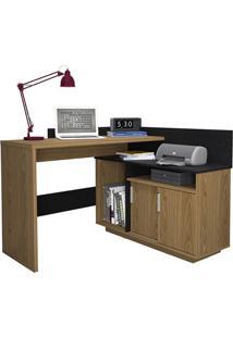 Escrivaninha Mega Office Mel E Preto