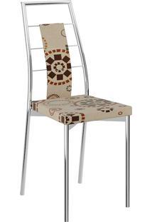 Cadeira 1718 - Carraro - Etnico Sépia