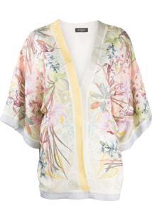 Etro Kimono Floral - Branco