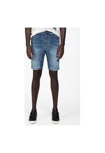 Bermuda Masculina Jeans Comfort Ston+Used