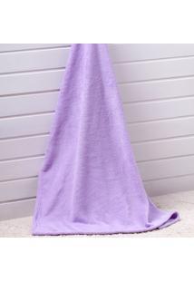 Manta Glorious Baby Flannel Le Petit - Corttex - Lilás