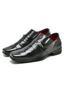 Sapato Social Masculino Mb Outlet Preto Linha Exclusiva
