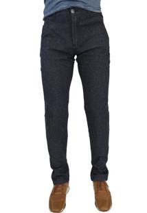 Calça Jeans Aero Jeans Reta Escura Azul