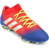 Netshoes. Chuteira Campo Infantil Adidas Nemeziz Messi 18 3 Fg - Unissex af9727ac0a016