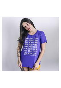 Camiseta Feminina Girlboss Anjuss