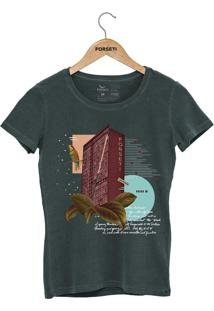 Camiseta Forseti Estonada Jk Verde