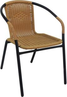 Cadeira Indaiá Bege Rattan