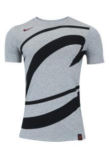 Camiseta Nike Cleveland Cavaliers Exp Os Logo - Masculina - Cinza 3dc873bb7c22e