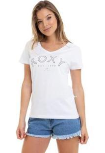Camiseta Rx M/C Go With You Feminina - Feminino-Branco