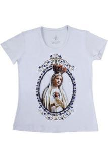Camiseta Baby Look Top Bulls 21815 Feminina - Feminino-Branco